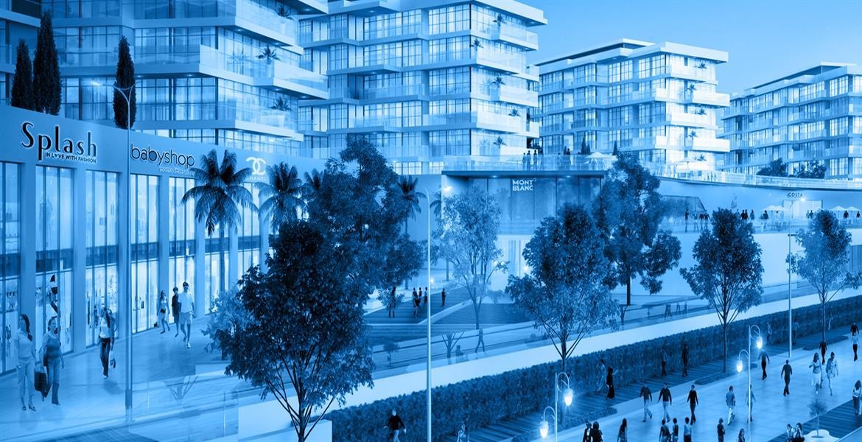 بلوباي والك , مدينة الواجهة المائية - الشارقة