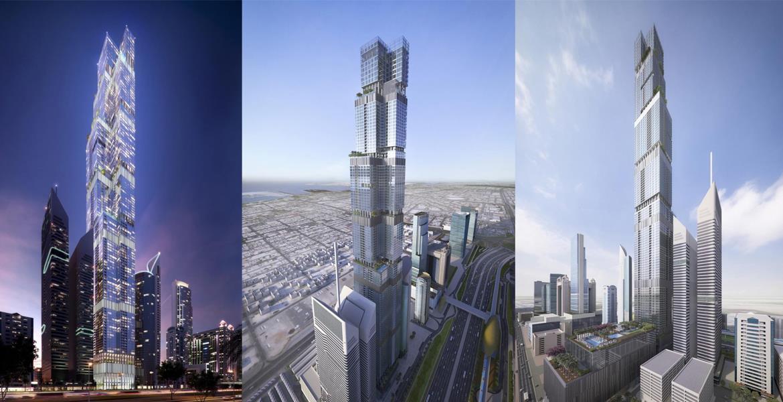برج انتصار , ميدان , دبي