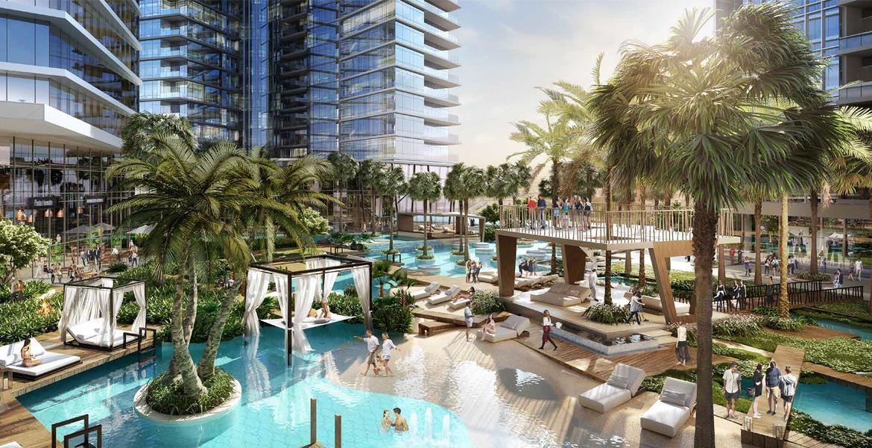 أبراج آيكون سيتي , الخليج التجاري , دبي