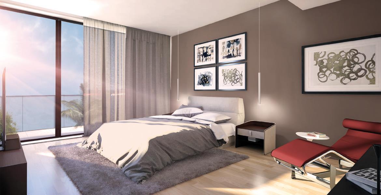 شقق استوديو مكونة من 1، 2، و3 غرف نوم