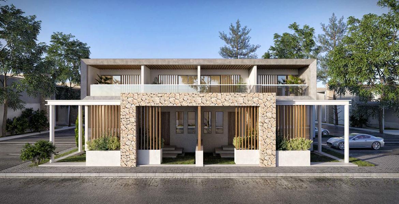 توفر منازل ذات طابقين ومنازل تاونهاوس وشقق مصممة بأناقة