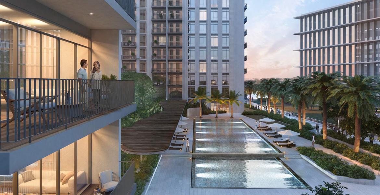 موقع متميز مع مناظر خلابة مطلة على ملعب غولف و أفق دبي