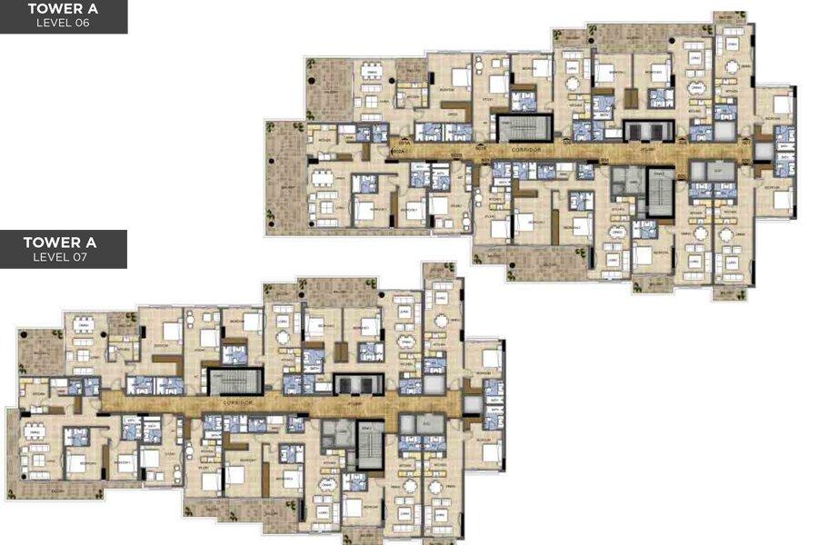 مخطط الطابق