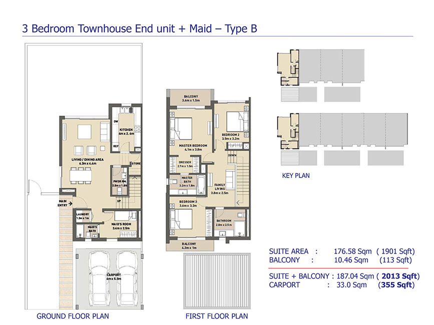 3-Bedroom-Townhouse-End-Unit-Maid-Type-B