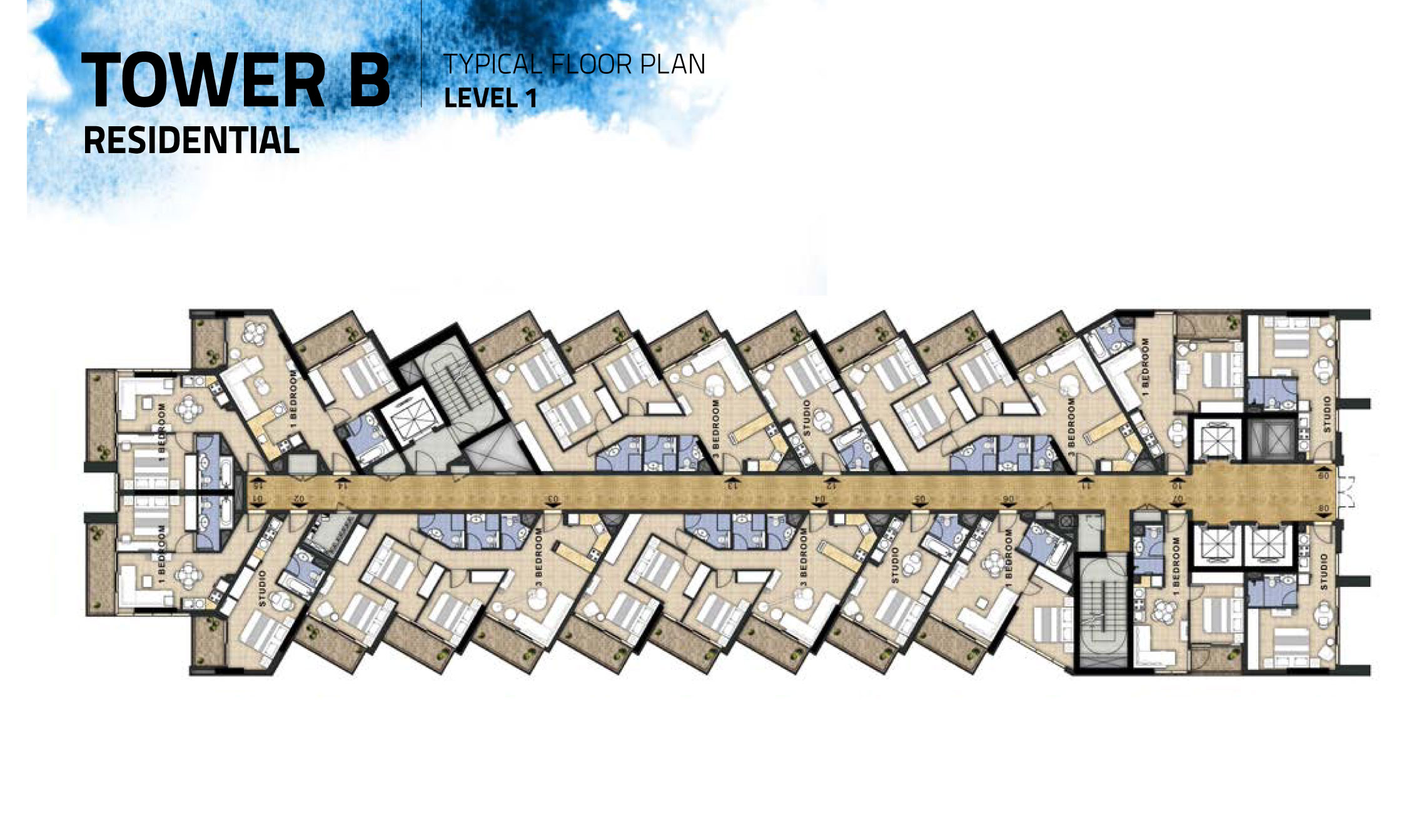 Tower-B-Level-1