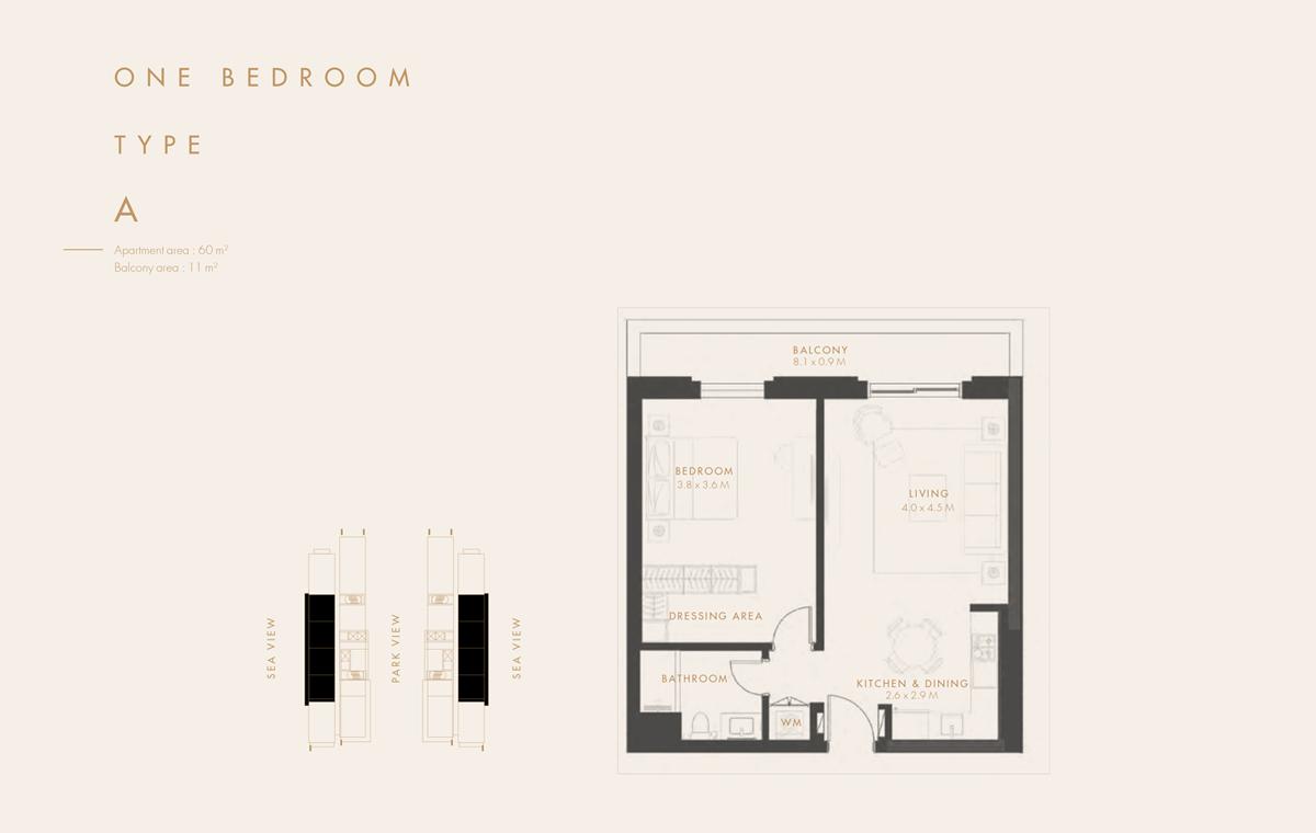 Bedroom 1   Type A