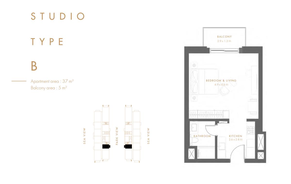 Studio  Type B