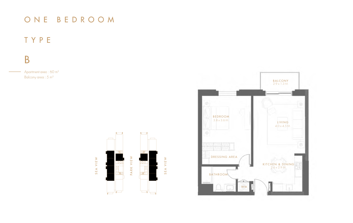 Bedroom 1 Type B