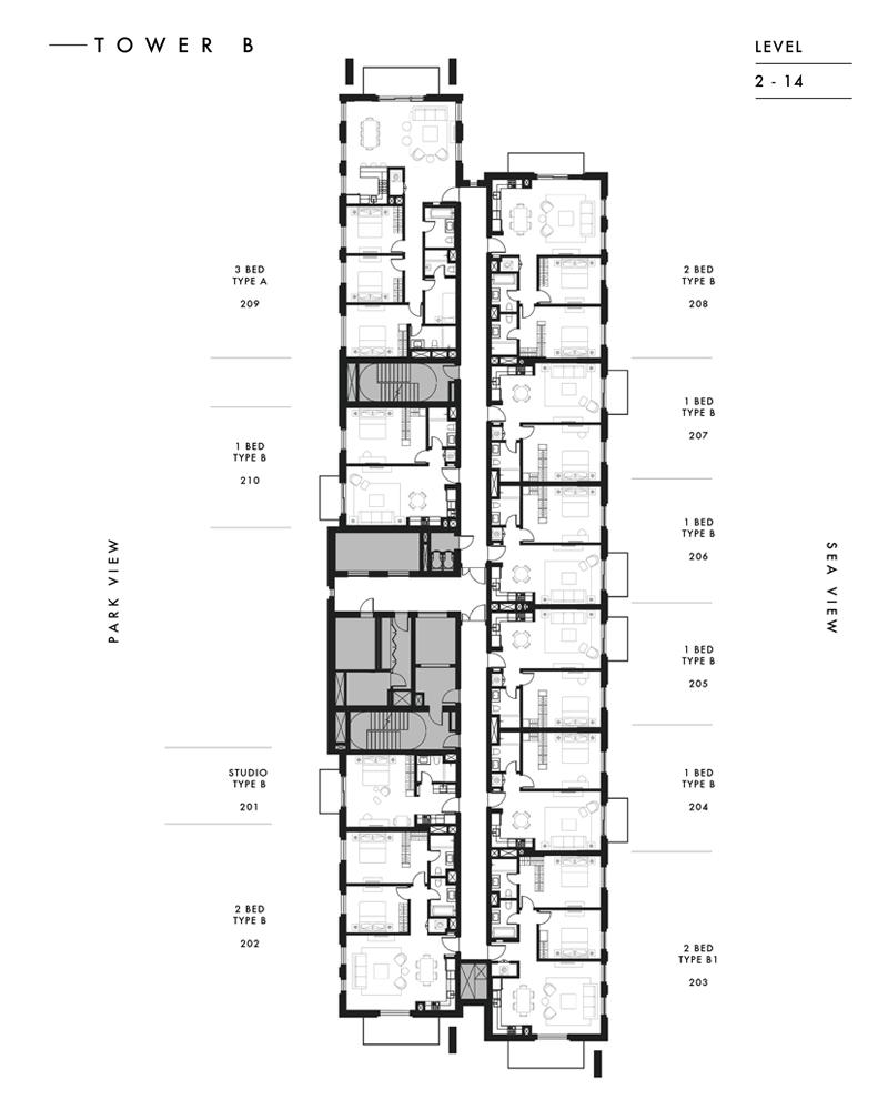 Tower B - Level 2 - 14