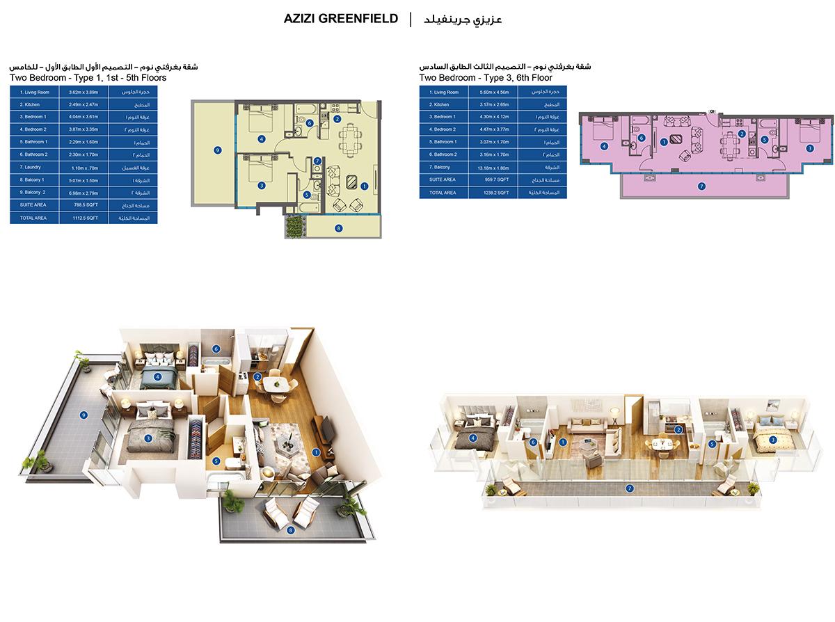 Bedroom 2 -3d-4