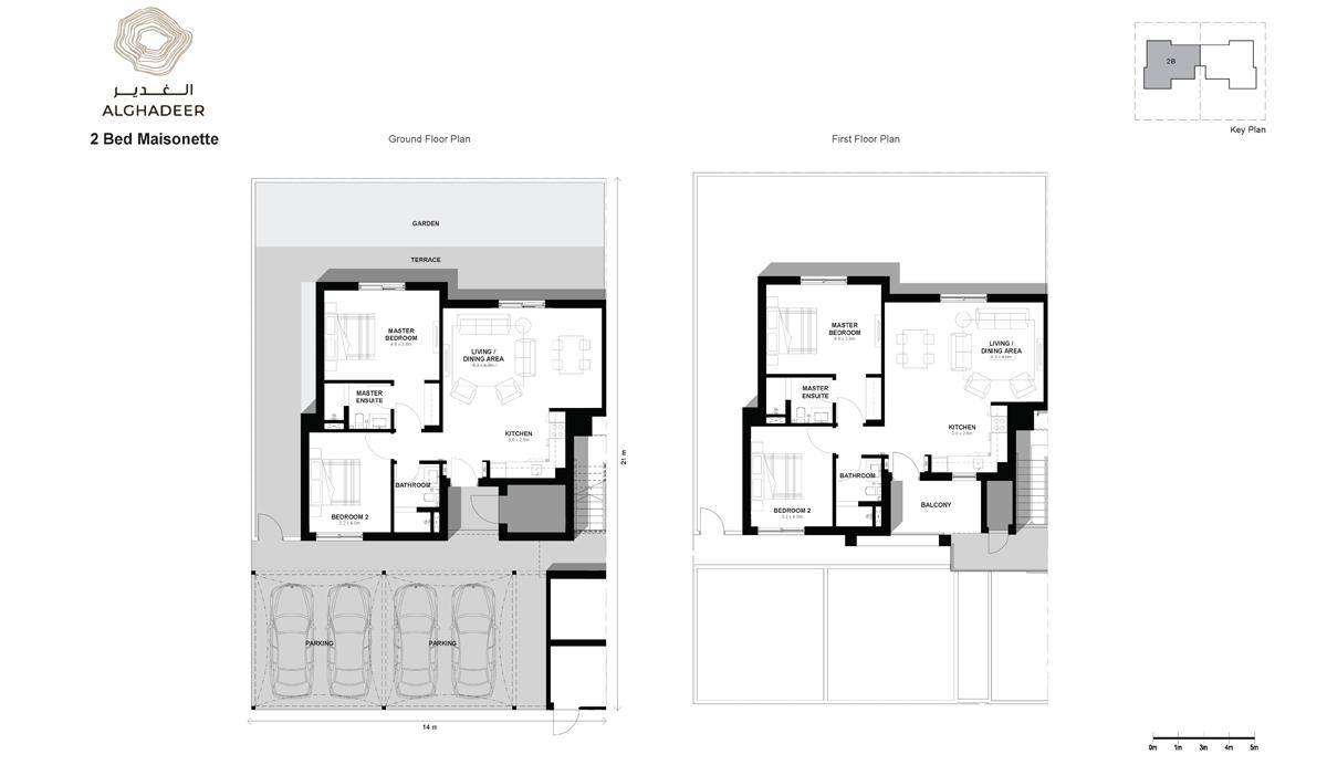 Bedroom 2 -Maisonette-Fl2