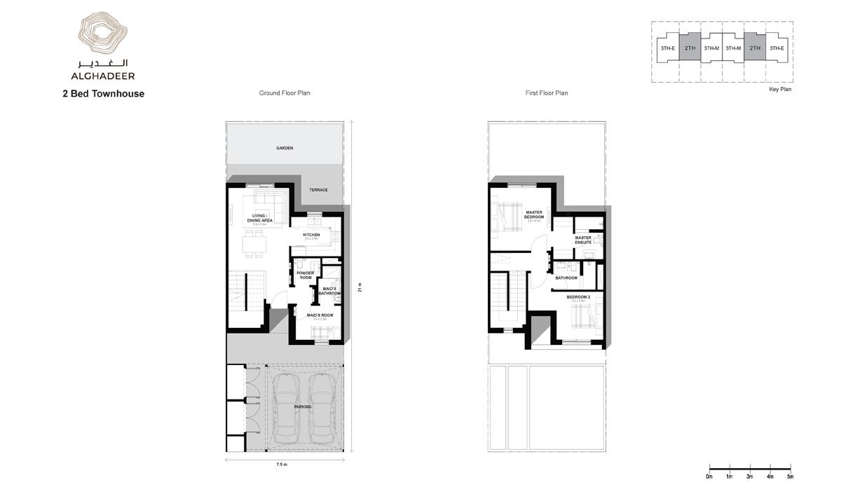 Bedroom 2 -Townhouse