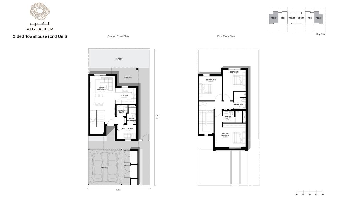 Bedroom 3 -Townhouse-EU
