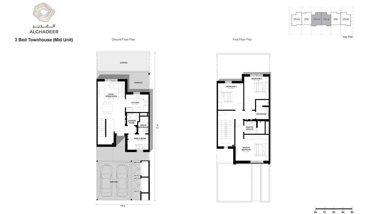 Bedroom 3 -Townhouse-MU