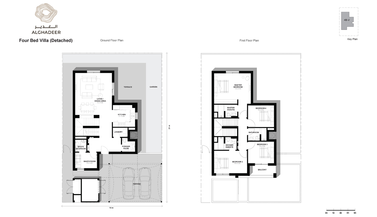 Bedroom 4 -Villa-Detached