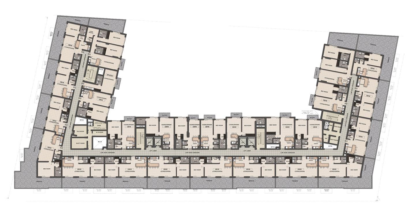 تصميم الطوابق