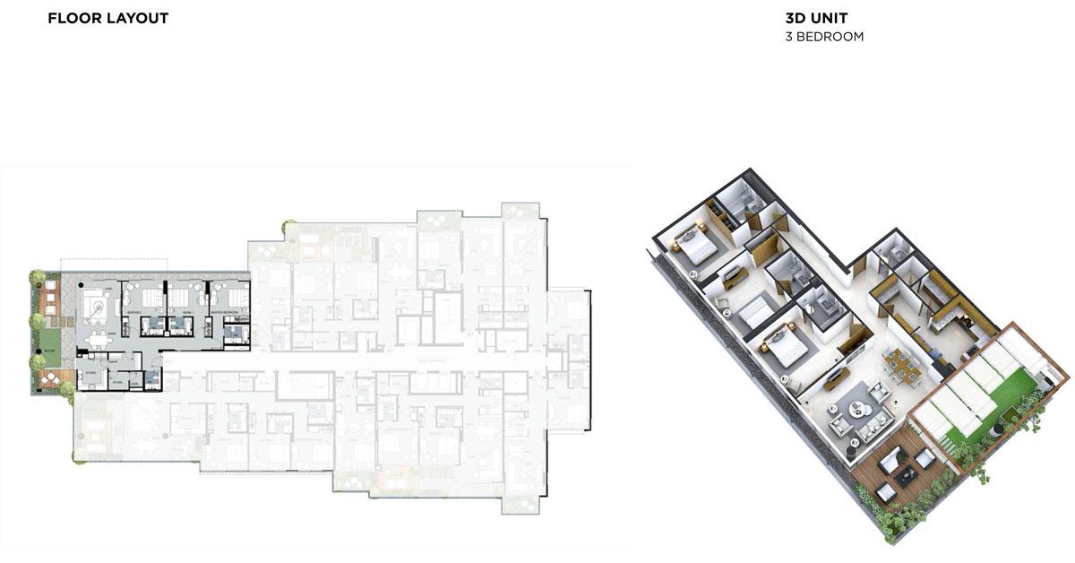 3 غرف نوم