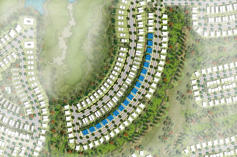 شقق-أكويا-أوركيد  المخطط الرئيسي