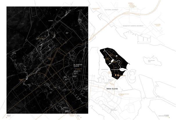 أبراج-رفلكشن-الدار  المخطط الرئيسي
