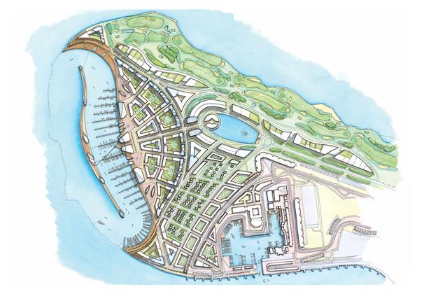 أنسام-جزيرة-ياس  المخطط الرئيسي