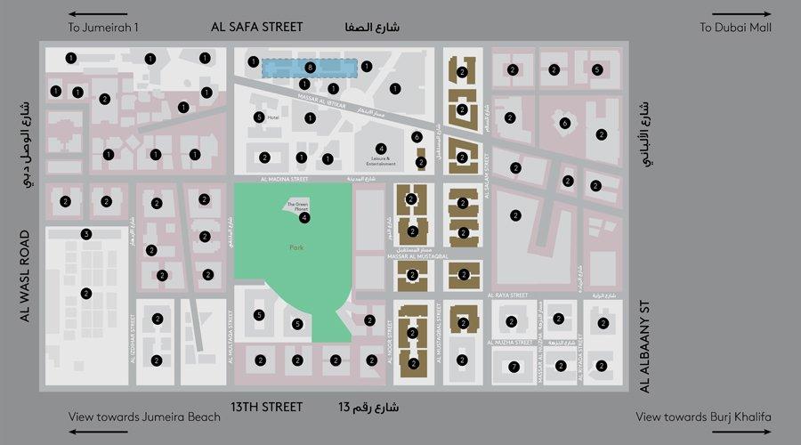 سنترال-بارك-مبنى-1  المخطط الرئيسي