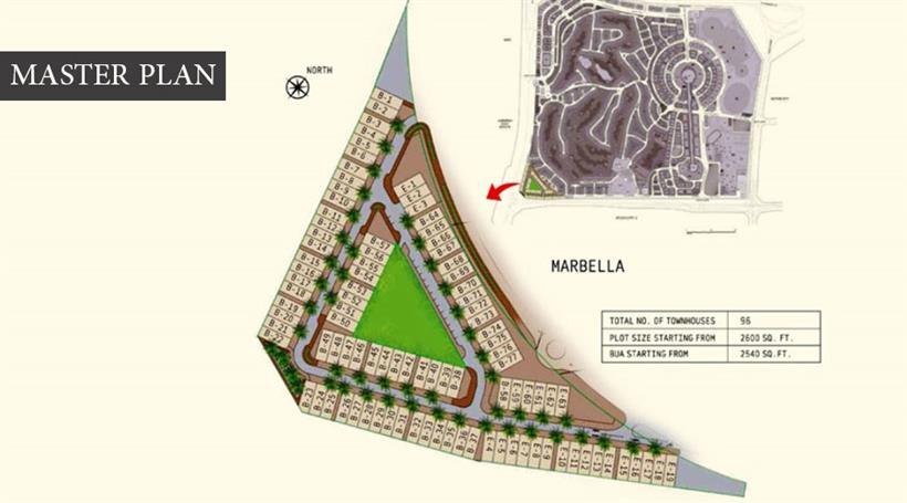 ماربيلا-فيكتوري-هايتس  المخطط الرئيسي