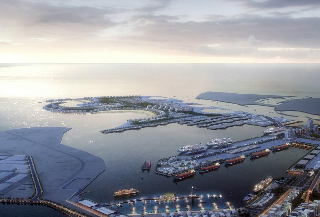 ميناء-راشد  المخطط الرئيسي