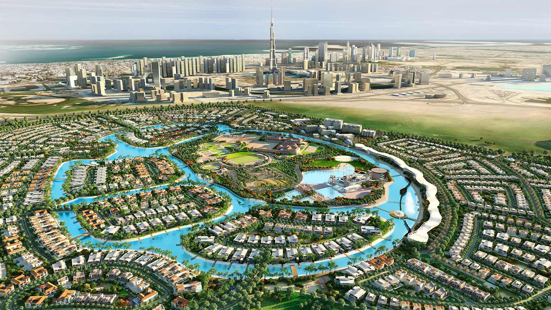 مساكن-الثويمة  المخطط الرئيسي