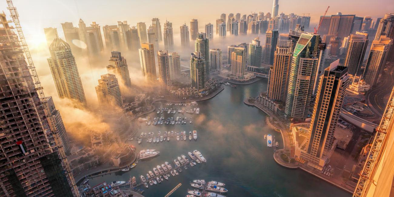 برج-سيل-دبي-مارينا  المخطط الرئيسي