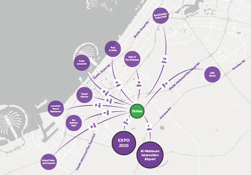 آي-سويتس خريطة الموقع
