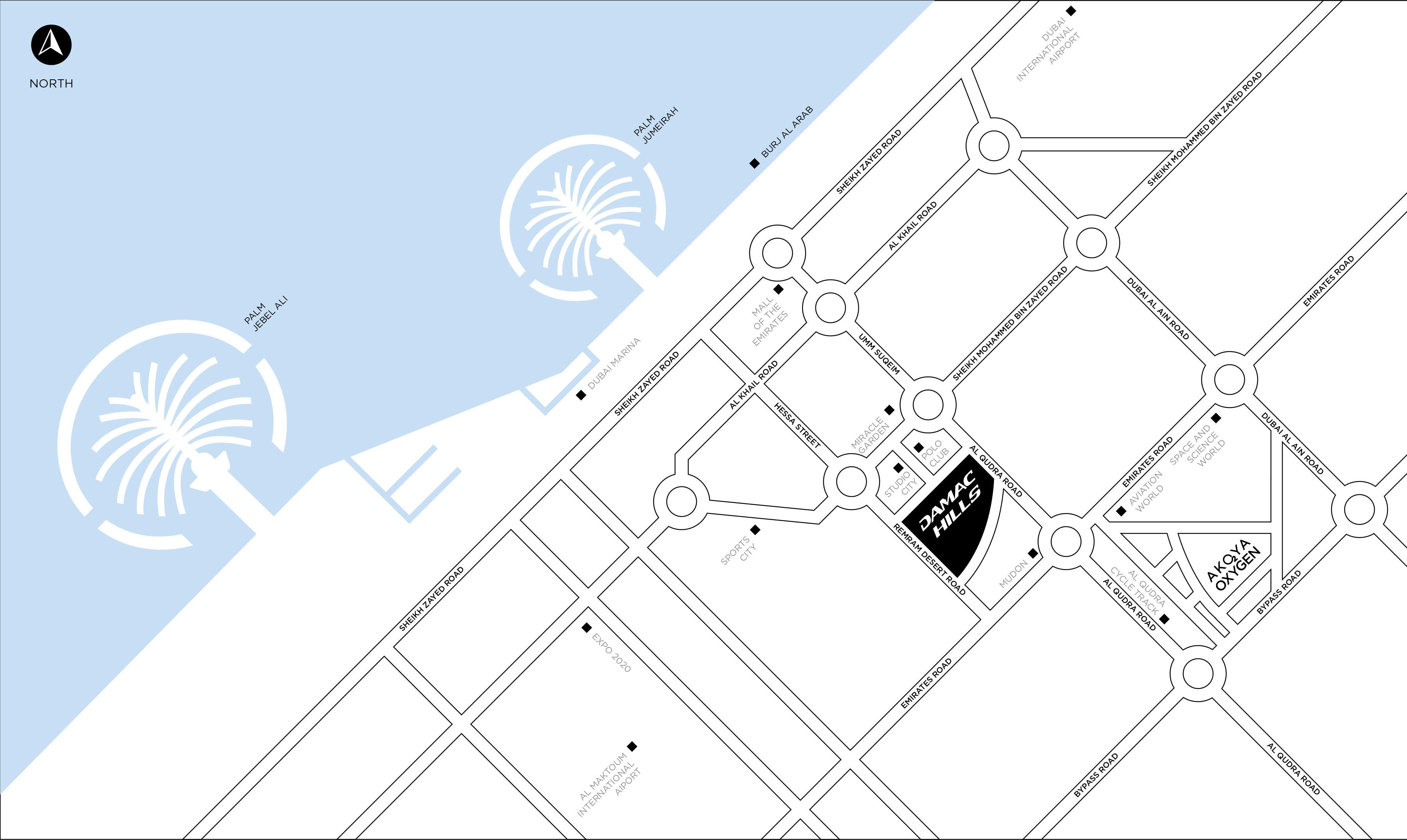فلل-فيندي-ستايل خريطة الموقع