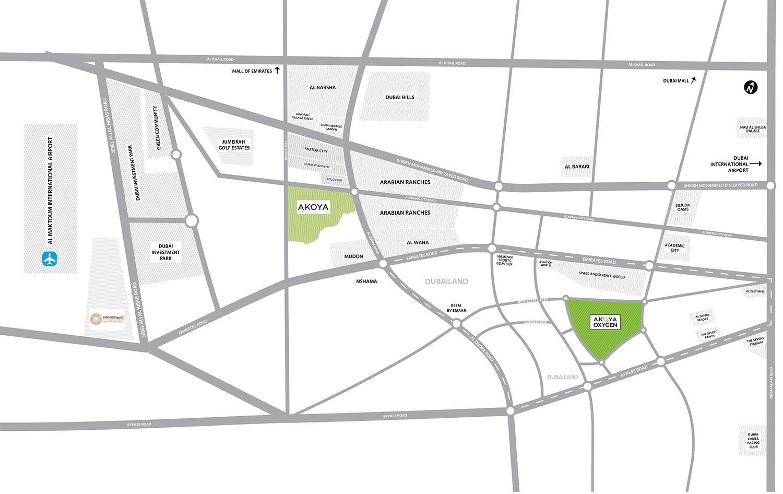 بيفرلي-هيلز خريطة الموقع