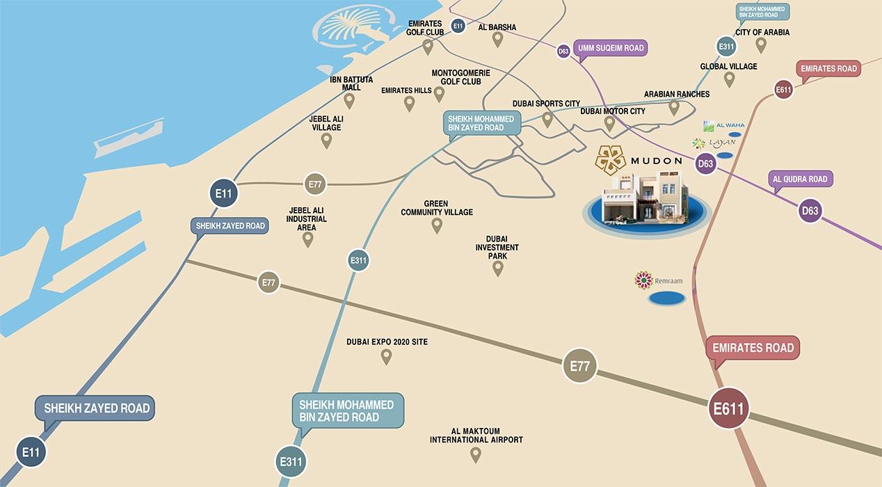 شقق-مدن-فيوز خريطة الموقع