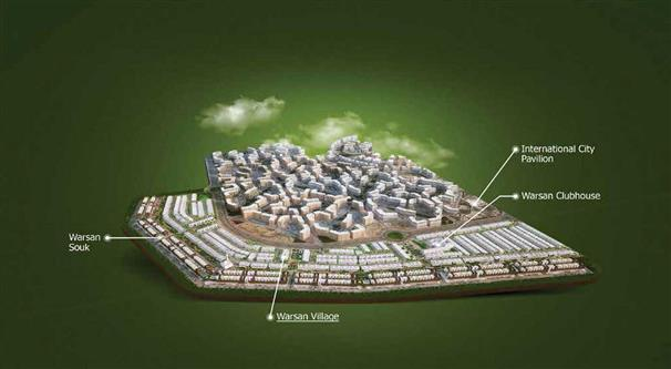 ورسان-فيلج-دبي خريطة الموقع