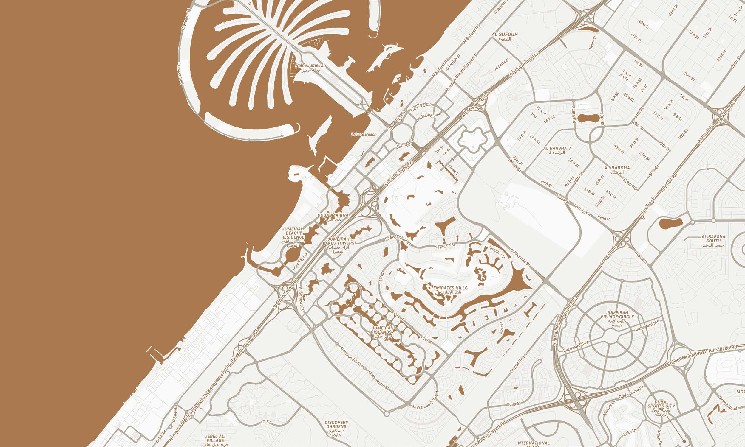 شقق-غالية خريطة الموقع