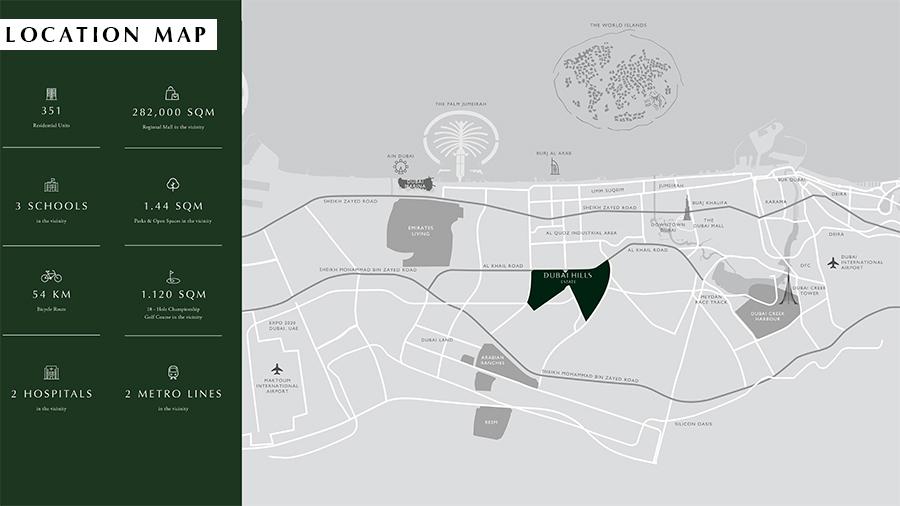أبراج-كولكتيف خريطة الموقع
