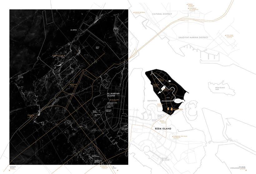 أبراج-رفلكشن-من-الدار-العقارية خريطة الموقع