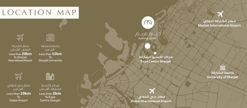 أزور-بيتش-ريزيدنس خريطة الموقع
