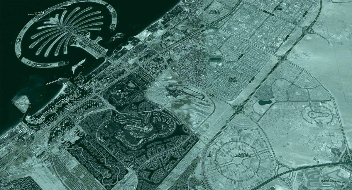 ذا-كونستيلا خريطة الموقع