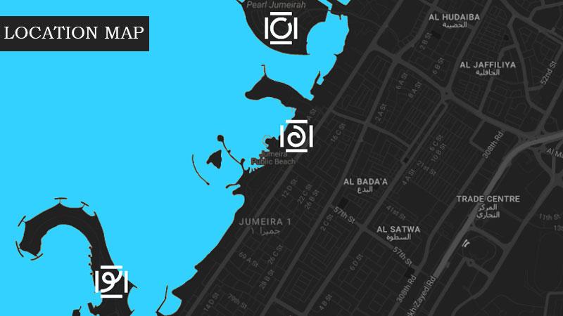 شقق-لا-ريف خريطة الموقع