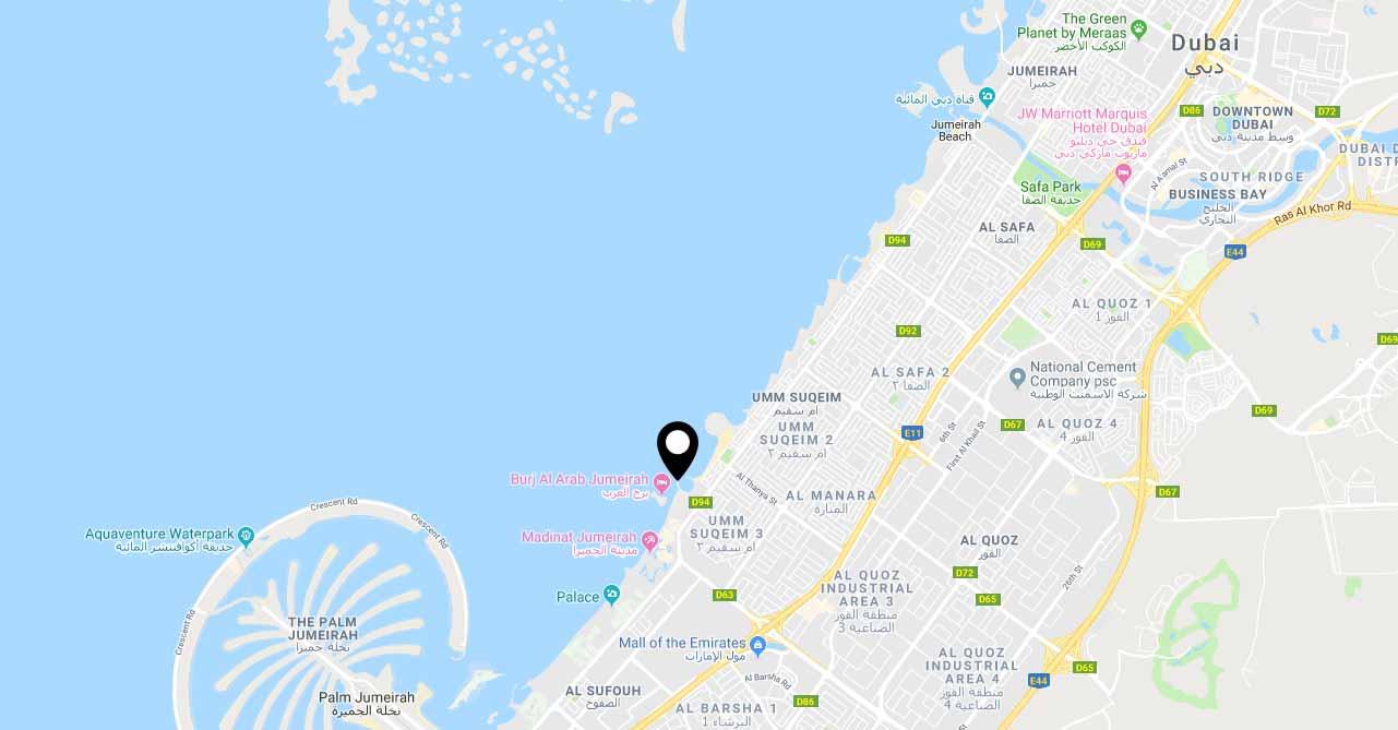 اكسكلوزف-9-مانشنز خريطة الموقع