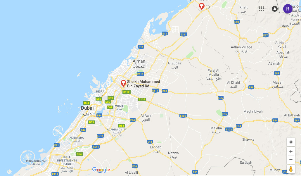 سمايا-للشقق-الفندقية خريطة الموقع