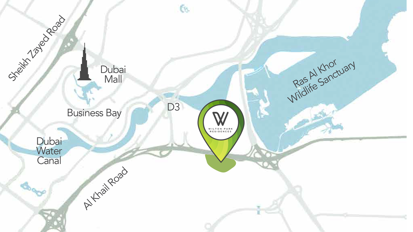 ويلتون-بارك-ريزيدنسز خريطة الموقع