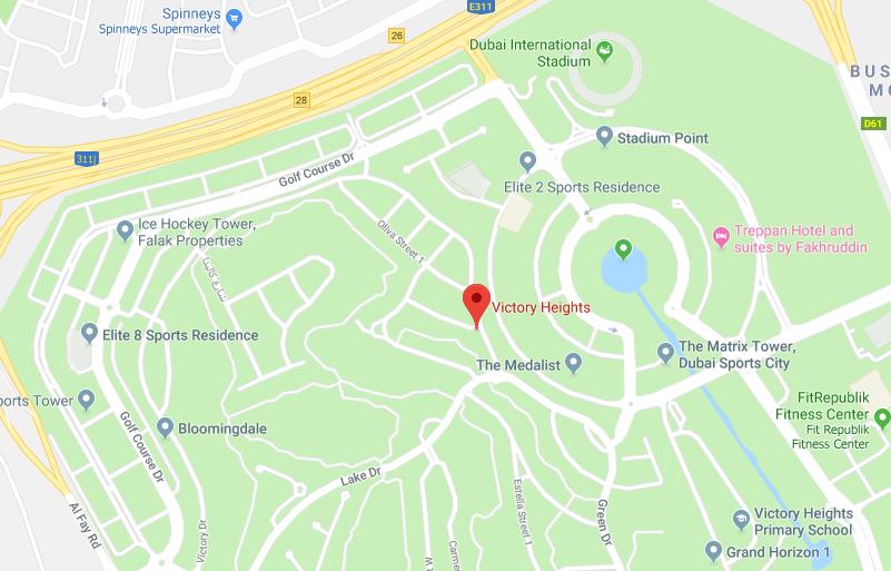 ماربيلا-فيكتوري-هايتس خريطة الموقع