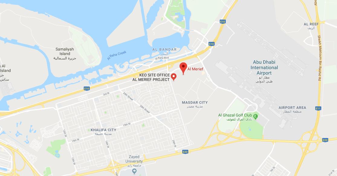 قطع أراضي المريف من شركة الدار العقارية -  الموقع