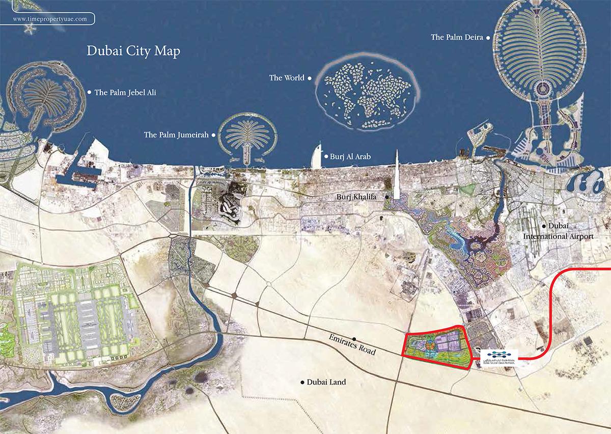 البوابة-العربية-2 خريطة الموقع