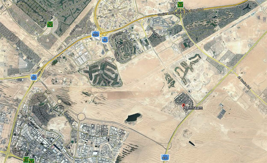 رمرام-المرحلة-الثانية خريطة الموقع