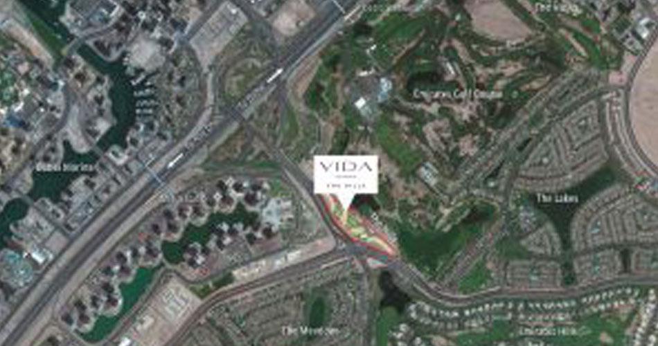 فيدا-ريزيدنسز-ذا-هيلز خريطة الموقع