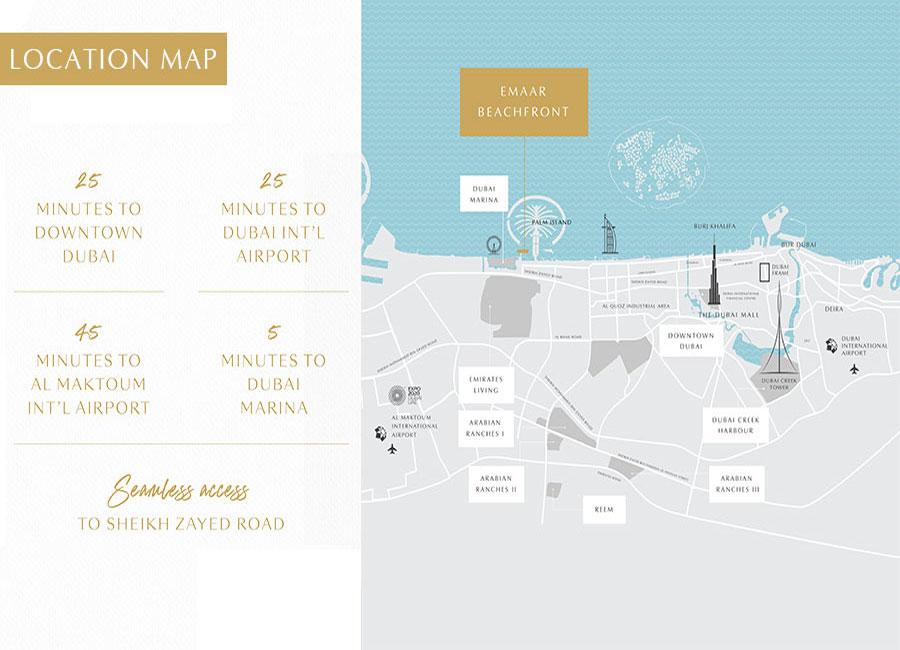 ساوث-بيتش-هوليداي-هومز-في-إعمار-بيتشفرونت خريطة الموقع