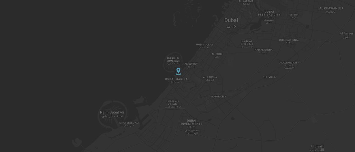 برج سيل دبي مارينا -  الموقع